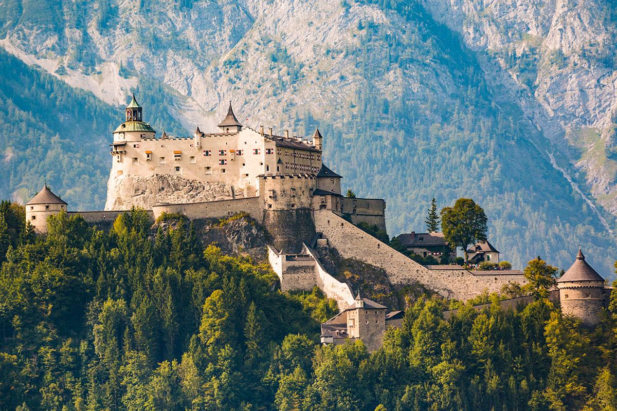 Ausflugsziele Salzburger Land Burg Hohenwerfen 5