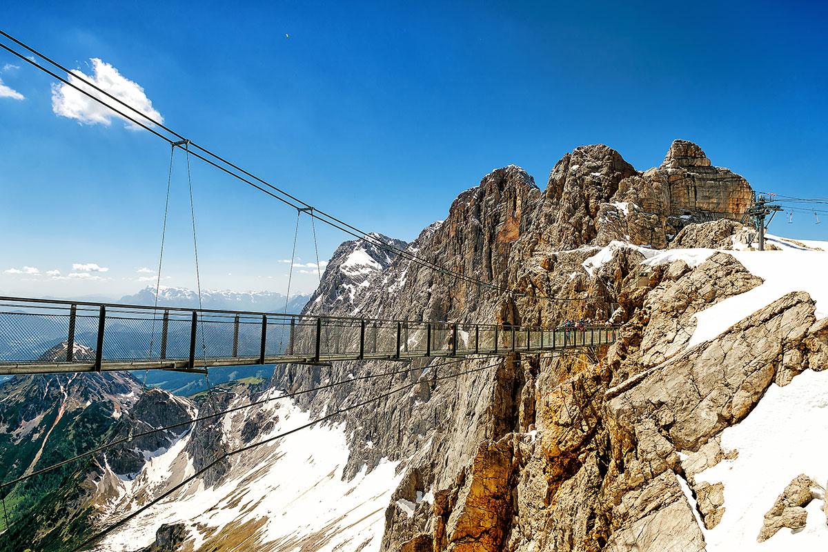 Ausflugsziele Salzburger Land Dachstein Skywalk Steiermark 23