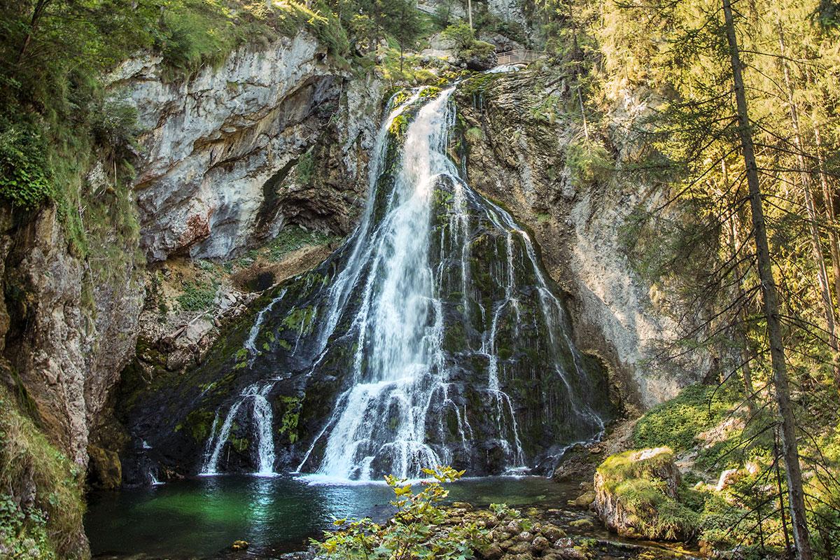 Ausflugsziele Salzburger Land Gollinger Wasserfall 12