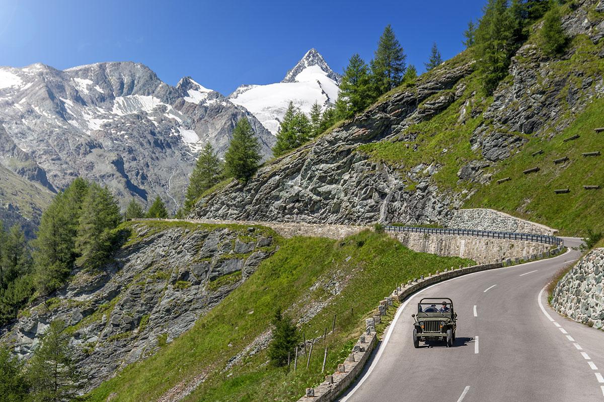 Ausflugsziele Salzburger Land Grossglockner Hochalpenstrasse 19