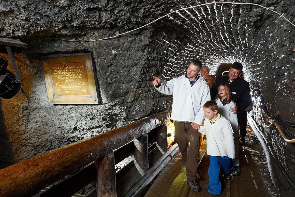 Ausflugsziele Salzburger Land Salzwelten Hallein 14