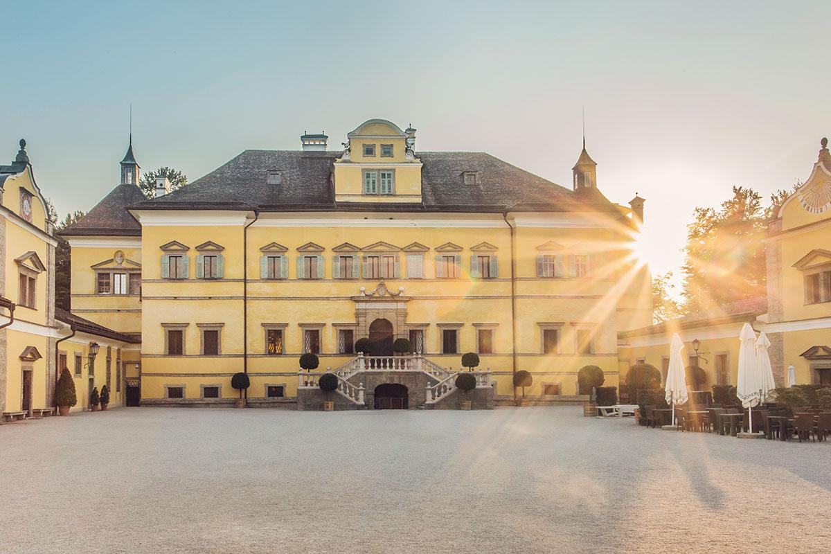 Ausflugsziele Salzburger Land Schloss Hellbrunn 6
