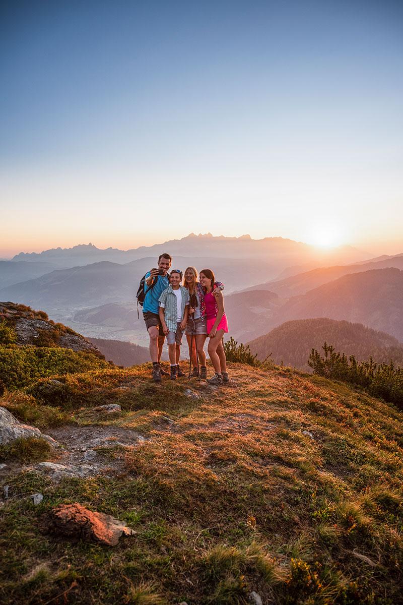 Familien-Urlaub in Flachau