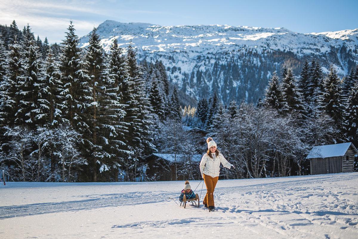 Familienurlaub Salzburger Land Winterurlaub Flachau 5