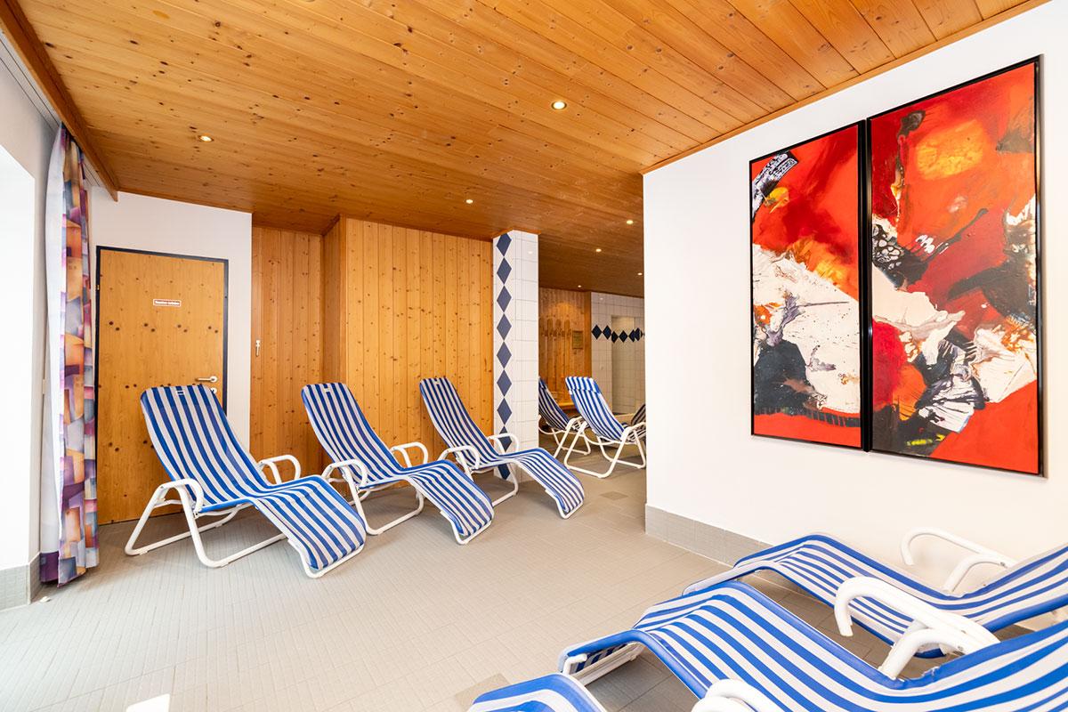 Ferienwohnungen in Flachau, Wellnessbereich