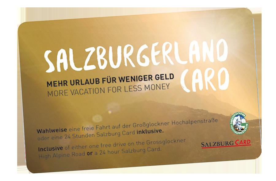 Ausflugsziele Salzburger Land Card