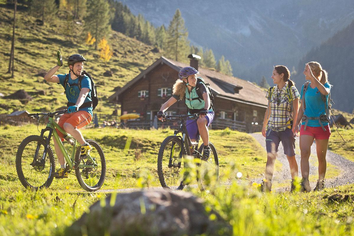 Sommerurlaub in Flachau, Bikeurlaub im Salzburger Land