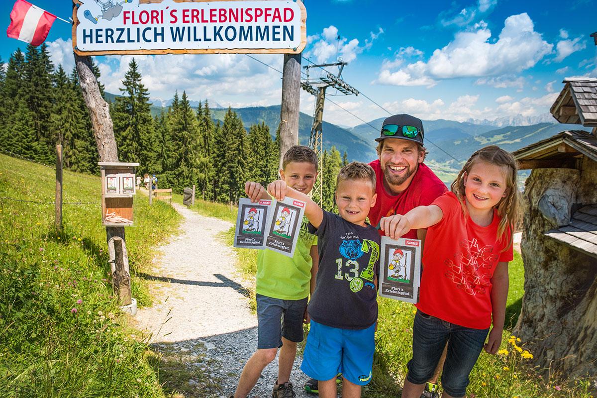 Sommerurlaub in Flachau, Wanderurlaub mit Kinder und Familie