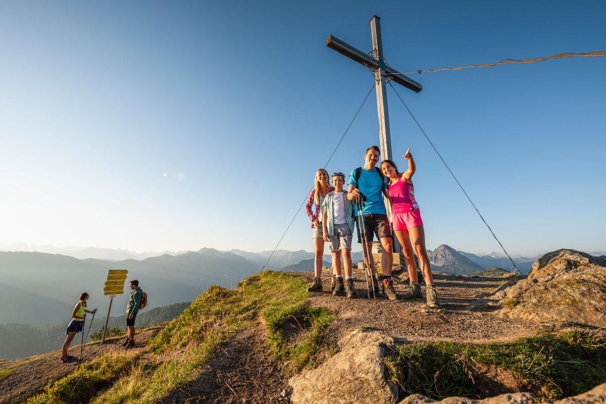 Sommerurlaub in Flachau, Wanderurlaub mit Freunden