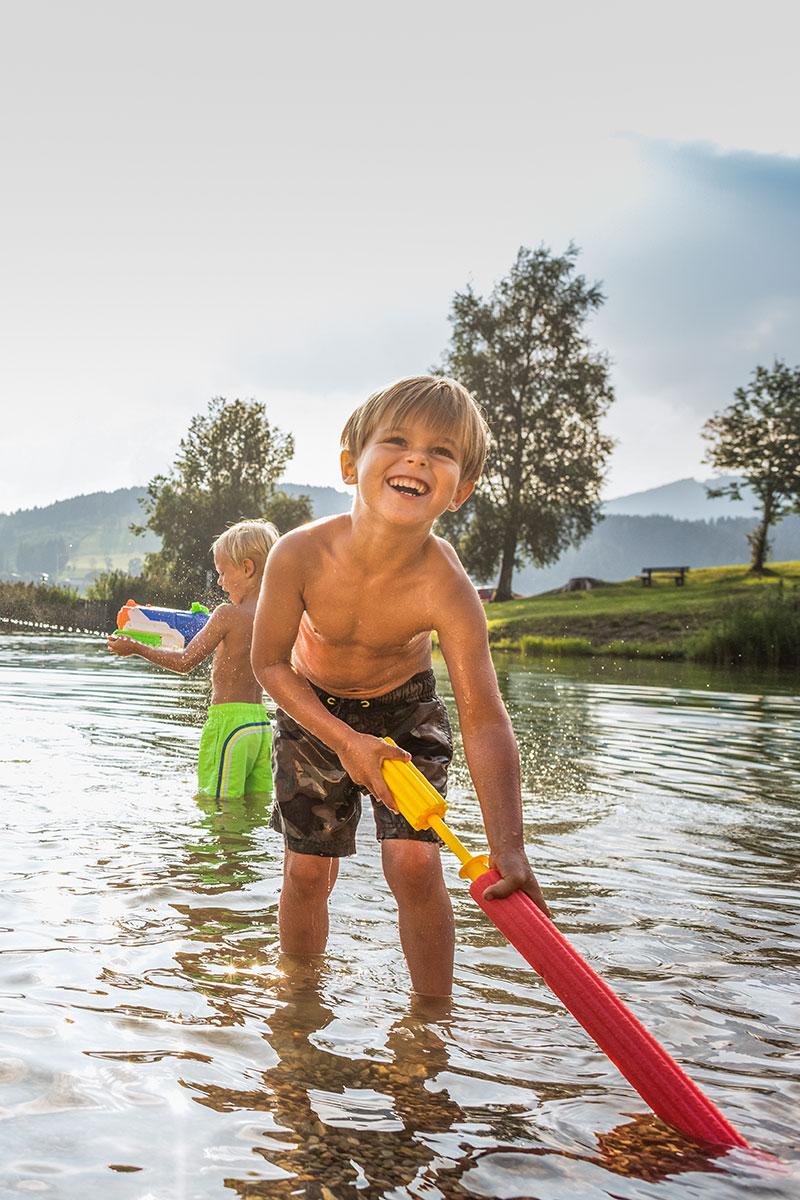 Sommerurlaub am Reitecksee in Flachau