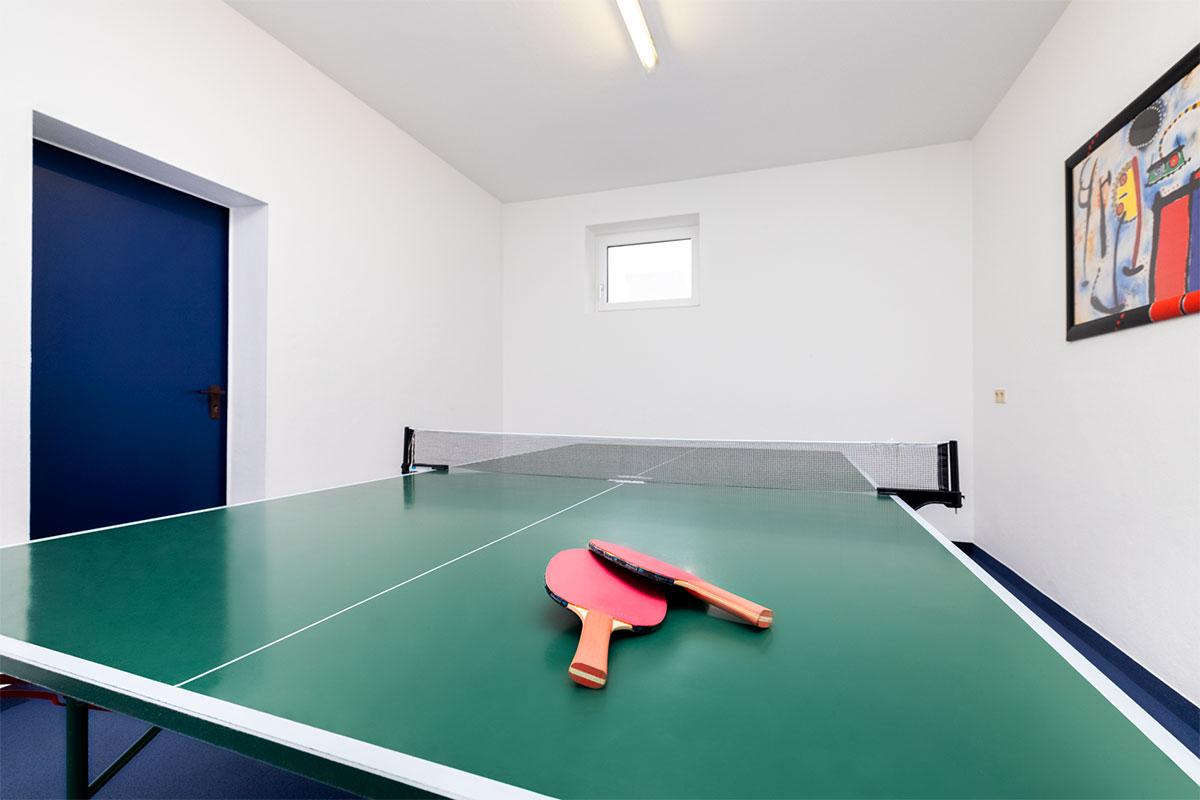 Ferienwohnungen in Flachau, Tischtennisraum