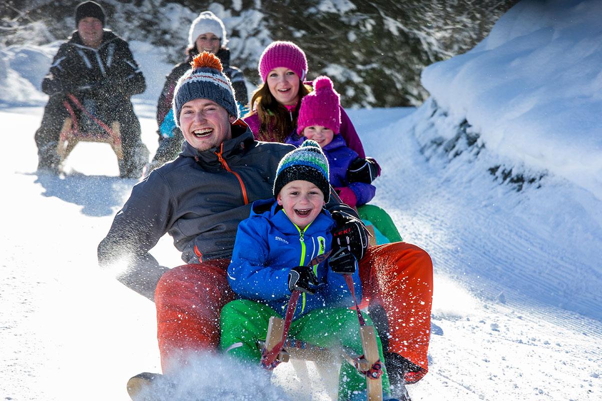 Aparthotel am Reitecksee, Winterurlaub in Flachau, Rodelurlaub in Ski amadé, Familienurlaub in Österreich