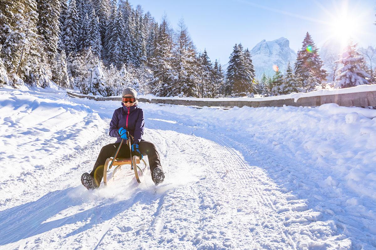 Aparthotel am Reitecksee, Winterurlaub in Flachau, Rodelurlaub in Ski amadé